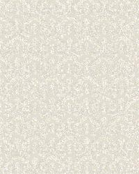 Pisces Grey Faux Fishscale Texture Wallpaper by