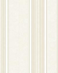 Poppy Storm Baroque Stripe Wallpaper by