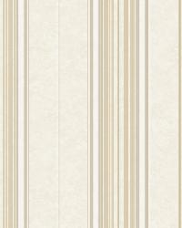 Poppy Winter Baroque Stripe Wallpaper by