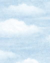 Fluff Haze Puffy Clouds Wallpaper by