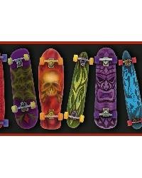 Gerry Black Skateboards Portrait Border  by