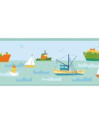 Skuttle Green Fun Harbor Portrait Border  by