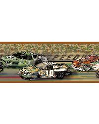 Bubba Green Racetrack Portrait Border  by