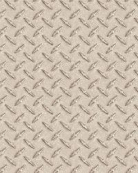 Gridlock Grey Faux Diamond Plate Wallpaper by