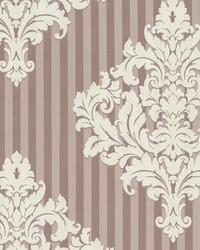 Rowan Rose Damask Stripe by