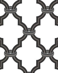 Byrne Black Ironwork by  Brewster Wallcovering