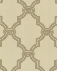 Byrne Beige Ironwork by  Brewster Wallcovering