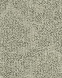 Rice Grey Meridian Damask Wallpaper by
