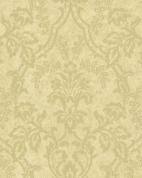 Andrea Ale Ornate Ogee Wallpaper by  Brewster Wallcovering