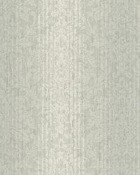 Alex Blue Damask Stripe Wallpaper by  Brewster Wallcovering