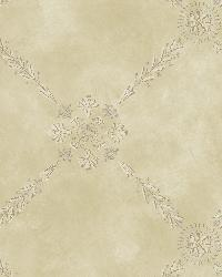 Rebecca Brown Trellis Criss Cross Wallpaper by
