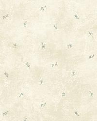 Lafayette Grey Floral Toss Wallpaper by