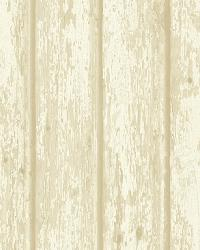 Athena Grey Faux Weathered Wood Wallpaper by