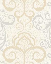 Vanessa Mauve Henna Brocade Wallpaper by
