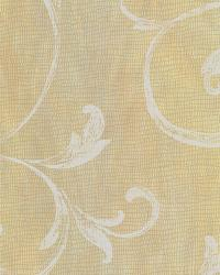Gibby Peach Leafy Scroll Wallpaper by