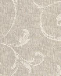 Gibby Charcoal Leafy Scroll Wallpaper by