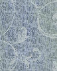 Gibby Blueberry Leafy Scroll Wallpaper by
