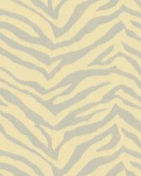 Mia Peach Faux Zebra Stripes Wallpaper by