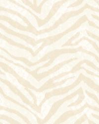 Mia Mauve Faux Zebra Stripes Wallpaper by