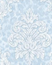 Gabriella Light Blue Ogge Busy Toss Wallpaper by