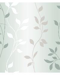 Sullivan Silver Ombre Vine Trail Wallpaper by
