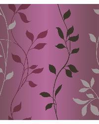 Sullivan Purple Ombre Vine Trail Wallpaper by