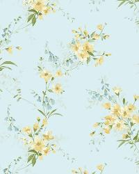 Yellow Buttercup Trail by  Brewster Wallcovering