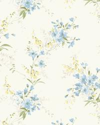Ivory Buttercup Trail by  Brewster Wallcovering