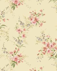 Sand Buttercup Trail by  Brewster Wallcovering