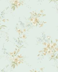 Neutral Buttercup Trail by  Brewster Wallcovering