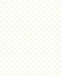 White Ditty Dot by  Brewster Wallcovering