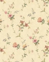 Sand Tiger Lily Trail by  Brewster Wallcovering