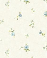 Neutrals Tiger Lily Toss by  Brewster Wallcovering