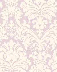 Lilac Simple Damask by