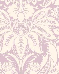 Mauve Vintage Damask by