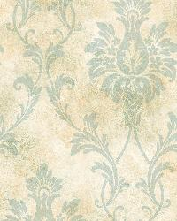 Neutral Pineapple Damask by