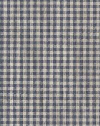 Greer Navy Gingham Check by