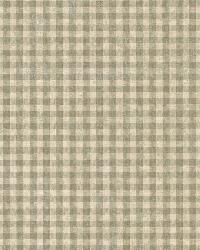 Greer Sage Gingham Check by  Brewster Wallcovering