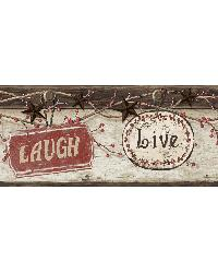 Kinsey Black Live Laugh Love Border by