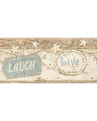 Kinsey Cream Live Laugh Love Border by