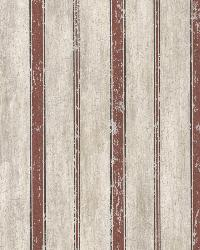 Parker Brick Wood Straightipe by  Brewster Wallcovering