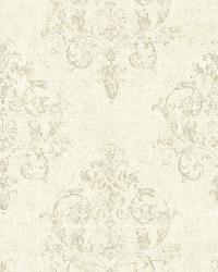 Arronsburg Linen Damask by  Brewster Wallcovering