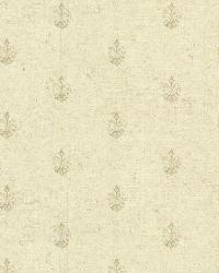 Bristol Wheat Medallion Toss by  Brewster Wallcovering