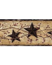 June Black Heritage Tin Star Border by