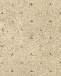 Josie Burgundy Paw Print Texture by