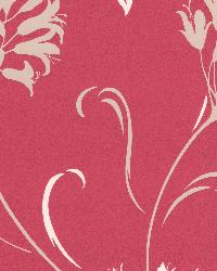 Nerida Pink Floral Silhouette Pink by
