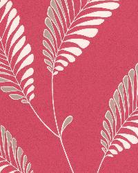 Aubrey Pink Modern Leaf Trail Pink by