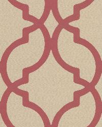 Harira Red Moroccan Trellis by