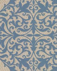 Pastiche Blue Classical Motif by