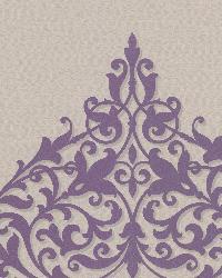 Pastiche Purple Classical Motif by